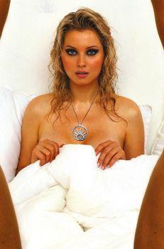 Елена Ленина без трусов в журнале Penthouse фото #2