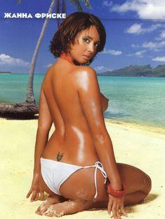 Жанна Фриске засветила сиськи в журнале Maxim фото #1