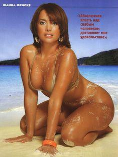 Жанна Фриске засветила сиськи в журнале Maxim фото #3