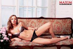 Секси Ингрид Олеринская в журнале Maxim фото #4