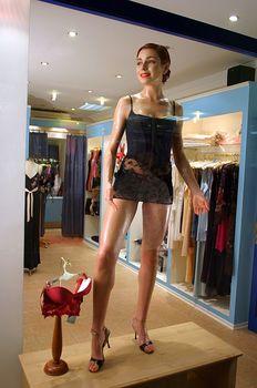 Горячая Ирена Понарошку для рекламы нижнего белья фото #1