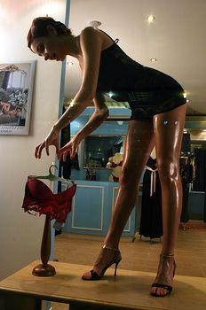 Горячая Ирена Понарошку для рекламы нижнего белья фото #5