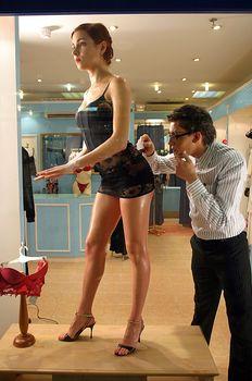 Горячая Ирена Понарошку для рекламы нижнего белья фото #6