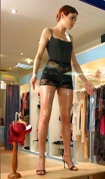 Горячая Ирена Понарошку для рекламы нижнего белья фото #12