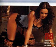 Сочные сиськи Ирины Чащиной в журнале Maxim фото #8
