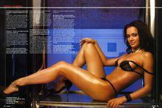 Сочные сиськи Ирины Чащиной в журнале Maxim фото #9