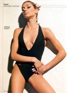 Ирина Чащина в купальнике для журнала Men's Fitness фото #3