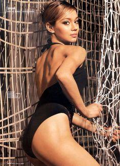 Ирина Чащина в купальнике для журнала Men's Fitness фото #4