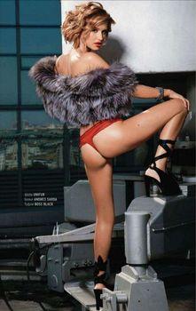 Эро Ксения Бородина в журнале Playboy фото #4