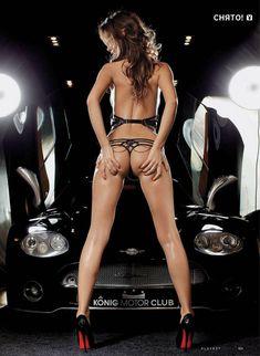 Голые сиськи Леры Кондры в журнале Playboy фото #2
