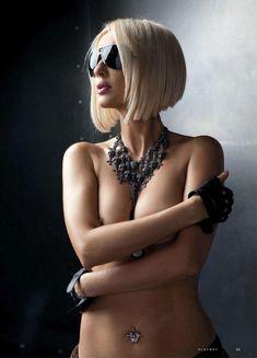 Лера Кудрявцева засветила сосок в журнале Playboy фото #5