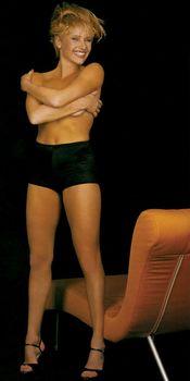 Мария Бутырская без лифчика в журнале Playboy фото #4