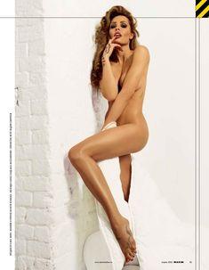 Мария Горбань разделась в журнале «Максим» фото #2