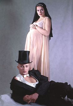 Голая беременная Мария Порошина в журнале «Махаон фото #4
