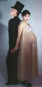 Голая беременная Мария Порошина в журнале «Махаон фото #7