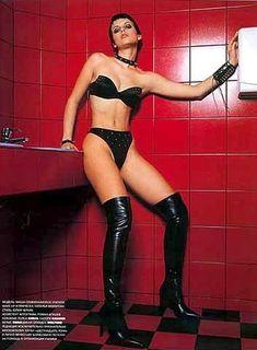 Мария Сёмкина в эротическом белье для журнала Bikini фото #3