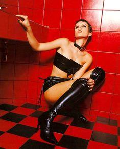 Мария Сёмкина в эротическом белье для журнала Bikini фото #5