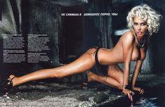 Обнаженная Маша Малиновская в журнале Playboy фото #2