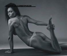 Обнаженное тело Настасьи Самбурской в журнале Maxim фото #6