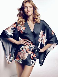 Наталья Водянова для рекламы белья Etam фото #12