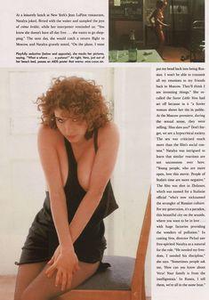 Обнаженная Наталья Негода в журнале Playboy фото #5