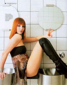 Секси Наталья Подольская в журнале «Медведь» фото #2