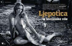 Полностью голая Ольга Родионова в журнале Playboy фото #9