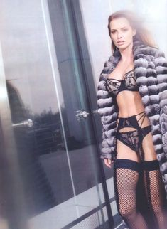 Ольга Родионова в белье для журнала XXL фото #2