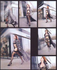 Ольга Родионова в белье для журнала XXL фото #4