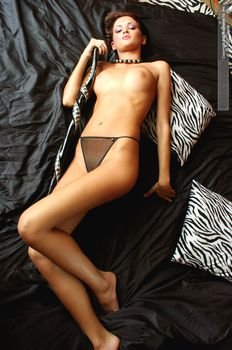 Паулина Андреева показала голую письку и сиськи фото #17
