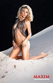 Светлана Лобода засветила сиськи в журнале Maxim фото #5