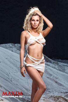 Светлана Лобода засветила сиськи в журнале Maxim фото #6