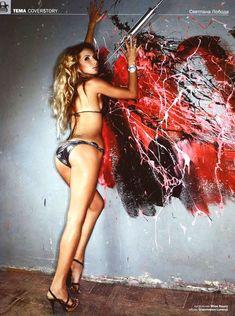 Секси Светлана Лобода в журнале EGO фото #6