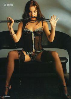 Светлана Светикова в эротическом белье для «Пингвин» фото #1