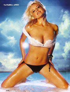 Татьяна Арно в купальнике для журнала Maxim фото #2