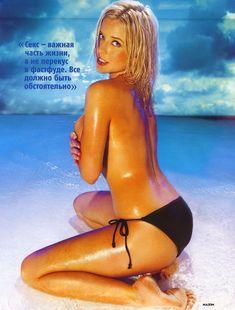 Татьяна Арно в купальнике для журнала Maxim фото #4