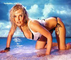 Татьяна Арно в купальнике для журнала Maxim фото #5