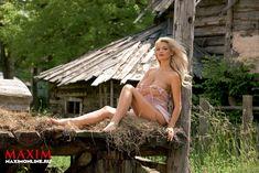 Секси Татьяна Котова в журнале Maxim фото #5
