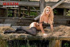 Секси Татьяна Котова в журнале Maxim фото #6