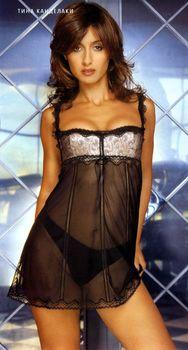Тина Канделаки в сексуальном белье для журнала FHM фото #2