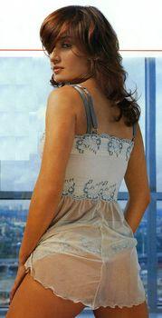 Тина Канделаки в сексуальном белье для журнала FHM фото #4
