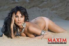 Секси Юлия Беретта в журнале Maxim фото #2