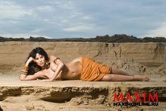 Секси Юлия Беретта в журнале Maxim фото #3
