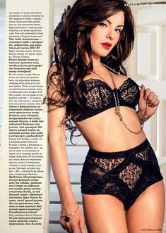 Юлия Волкова в эротическом белье для журнала XXL фото #4