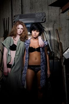 Юлия Волкова в нижнем белье для альбома Waste Management фото #3