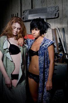 Юлия Волкова в нижнем белье для альбома Waste Management фото #5