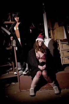 Юлия Волкова в нижнем белье для альбома Waste Management фото #6