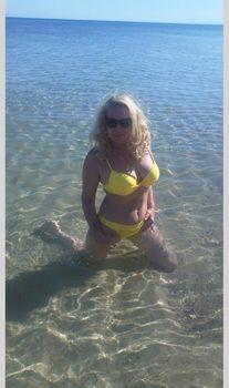 Елена Кондулайнен в купальнике на отдыхе в Тунисе фото #1