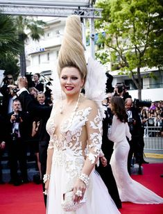 Елена Ленина в откровенном наряде на премьере фильма «Безумный Макс: Дорога ярости» фото #3
