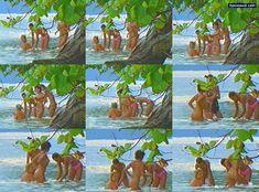 Эротические фото Жанны Фриске из шоу «Последний герой 4 - Конец игры» фото #2
